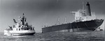 Research vessel Egabrag,  Telco job, San Diego Bay, 1977-78